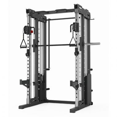 Titanium Strength Commercial FT3 Dual Pulley, Smith System & Rack