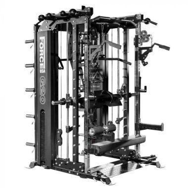 Force USA G20 Station de Musculation , Smith Machine, Rack à Squat et Vertical Leg Press