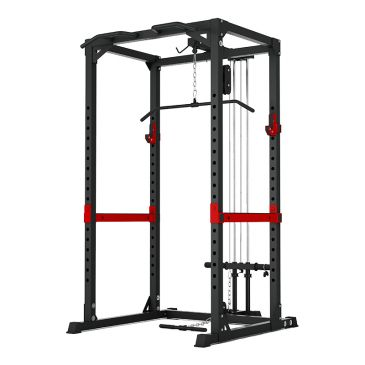 Titanium Strength Evolution Heavy Duty Power Rack - Jaula de Potencia con Polea Alta y Baja