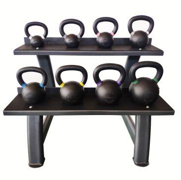 Titanium Strength Kettlebells Set 4-24KG + Rack