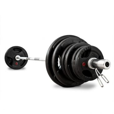 Titanium Strength 80kg Olympic Rubber Radial Kit, Discs, Olympic, Home Gym, Workout, Crossfit, Fitness
