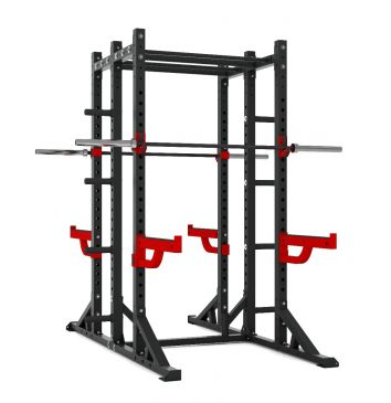 Titanium Strength Comercial Athletic Combo Rack - X Line, Squat, Rack, Press, Shoulder, Chest, Home Workout, Home Gym, Functional, Bar, Fitness, Crossfit