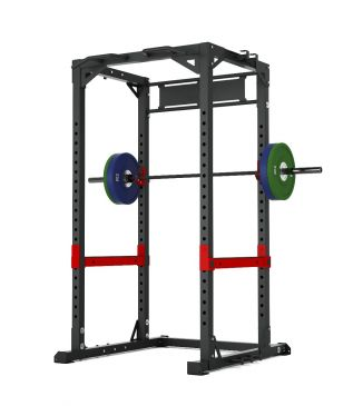 Titanium Strength Commercial HD Power Rack - X Line , Squat, Rack, Press, Shoulder, Chest, Home Workout, Home Gym, Functional, Bar, Fitness, Crossfit