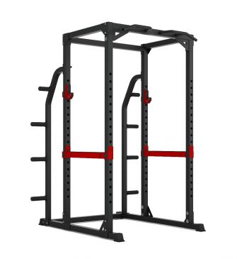 Titanium Strength Evolution HD Power Rack with Storage, Squat, Rack, Press, Shoulder, Chest, Home Workout, Home Gym, Functional, Bar, Fitness, Crossfit