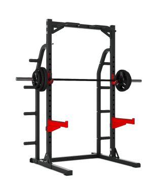 Titanium Strength Evolution Heavy Duty Half Rack Squat, Rack, Press, Shoulder, Chest, Home Workout, Home Gym, Functional, Bar, Fitness, Crossfit