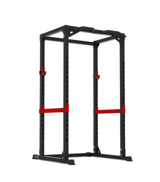 Titanium Strength Evolution Heavy Duty Power Rack, Squat, Rack, Press, Shoulder, Chest, Home Workout, Home Gym, Functional, Bar, Fitness, Crossfit