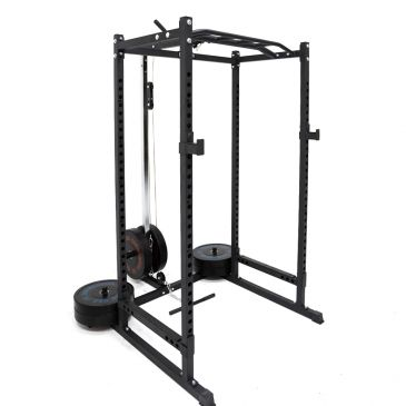 Force USA PT Power Rack and Lat Attachment Package