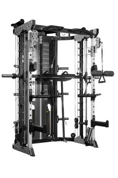 Force USA Monster Commercial G12 - Double Pulley (90.5 kg), Multipower, Power Rack and Leg Press, Home Gym, Workout, Fitness, Functional, Crossfit,