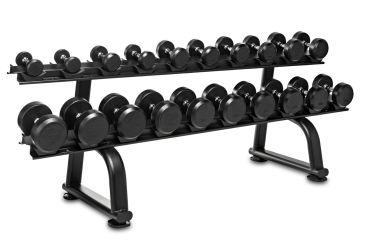 Titanium Strength Mancuernas 2.5 - 30kgs + rack