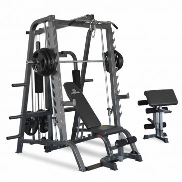 Titanium Strength Total Smith Machine, Fitness, Workout, Home Gym,Crossfit, Squats, Chest, Back, Functional,