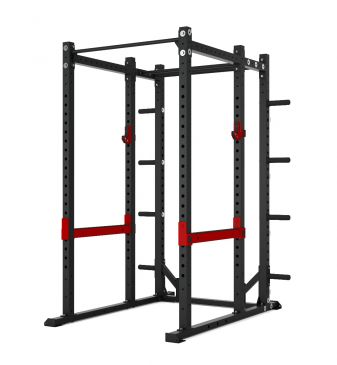 Titanium Strength Comercial Athletic Power Rack - X Line, Squat, Rack, Press, Shoulder, Chest, Home Workout, Home Gym, Functional, Bar, Fitness, Crossfit